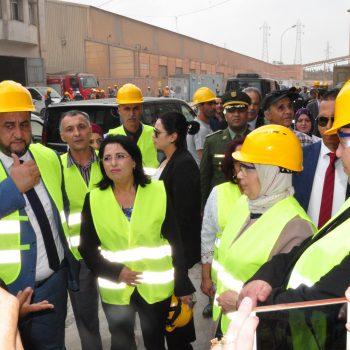 Visite de madame la ministre de l'environnement et des énergies renouvelables